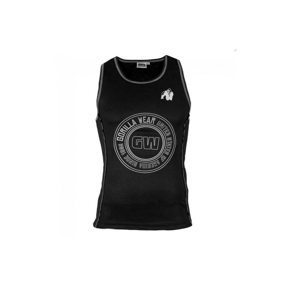 Gorilla Gw Kenwood Tank Top - Black/silver-L