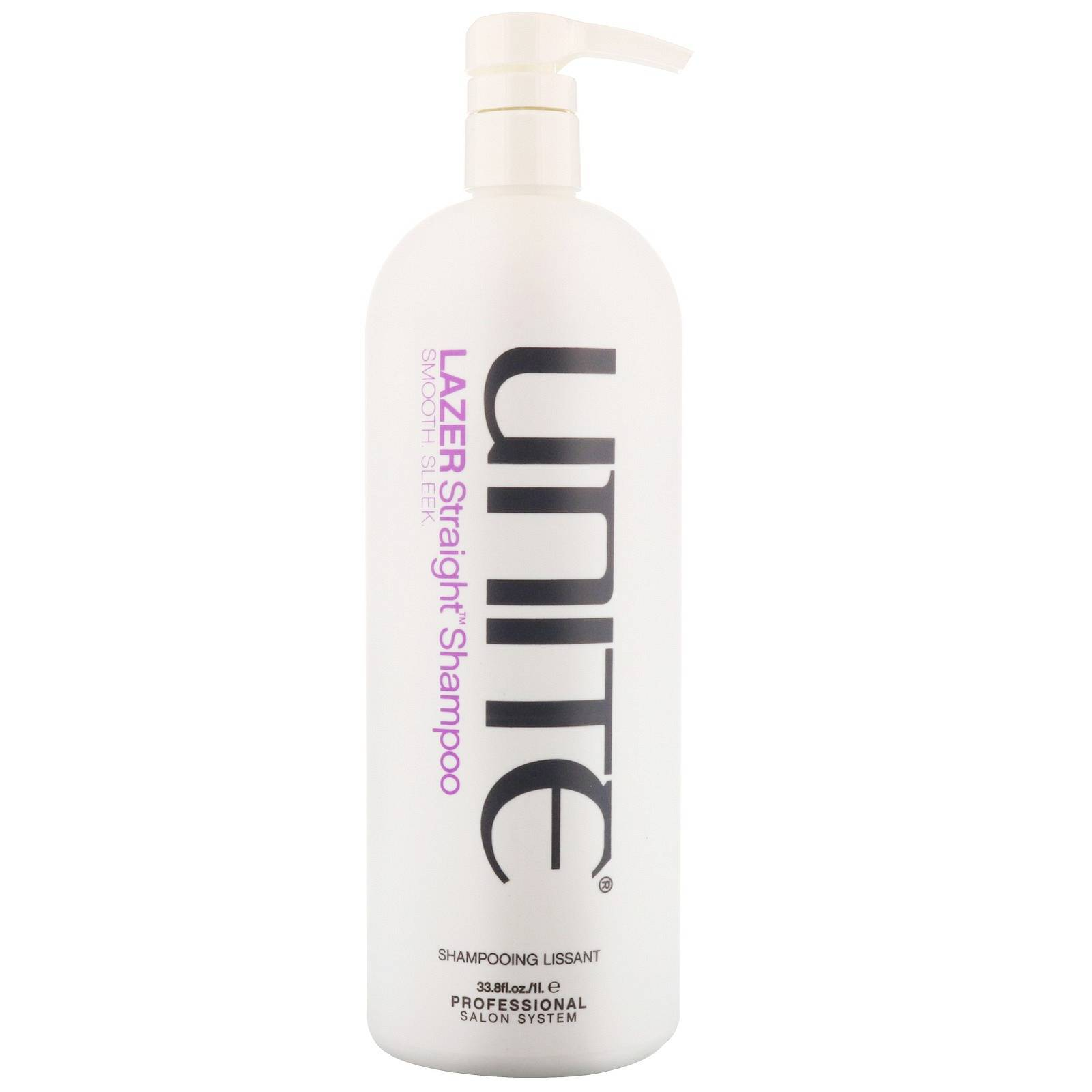 Unite Cleanse & Condition Lazer dritto shampoo 1000ml/33,8 FL. oz.
