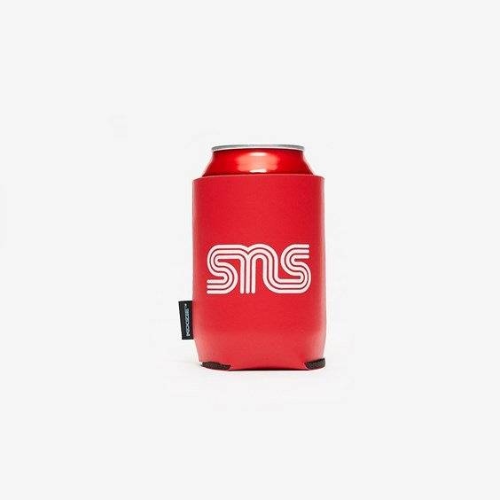 Sns Logo Koozie Can Kooler In Red - Size Misc