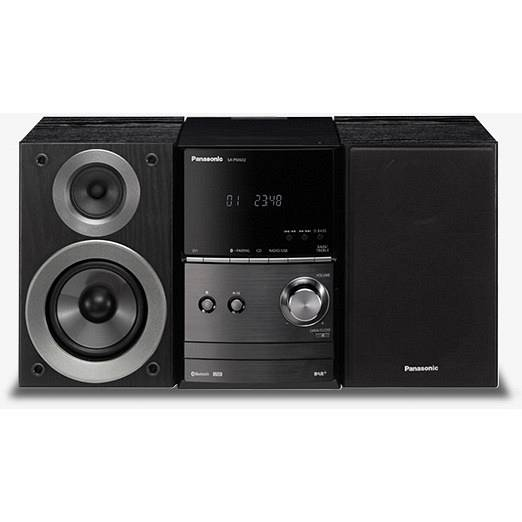 Panasonic Sc-Pm602-Eg-K Sistema Audio Micro Hi-Fi Wireless Bluetooth Cd Colore N