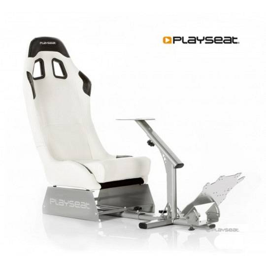 Playseat Evolution M Bianco/silver Per Ps2/ps3/xbox/xbox360/wii/pc/mac