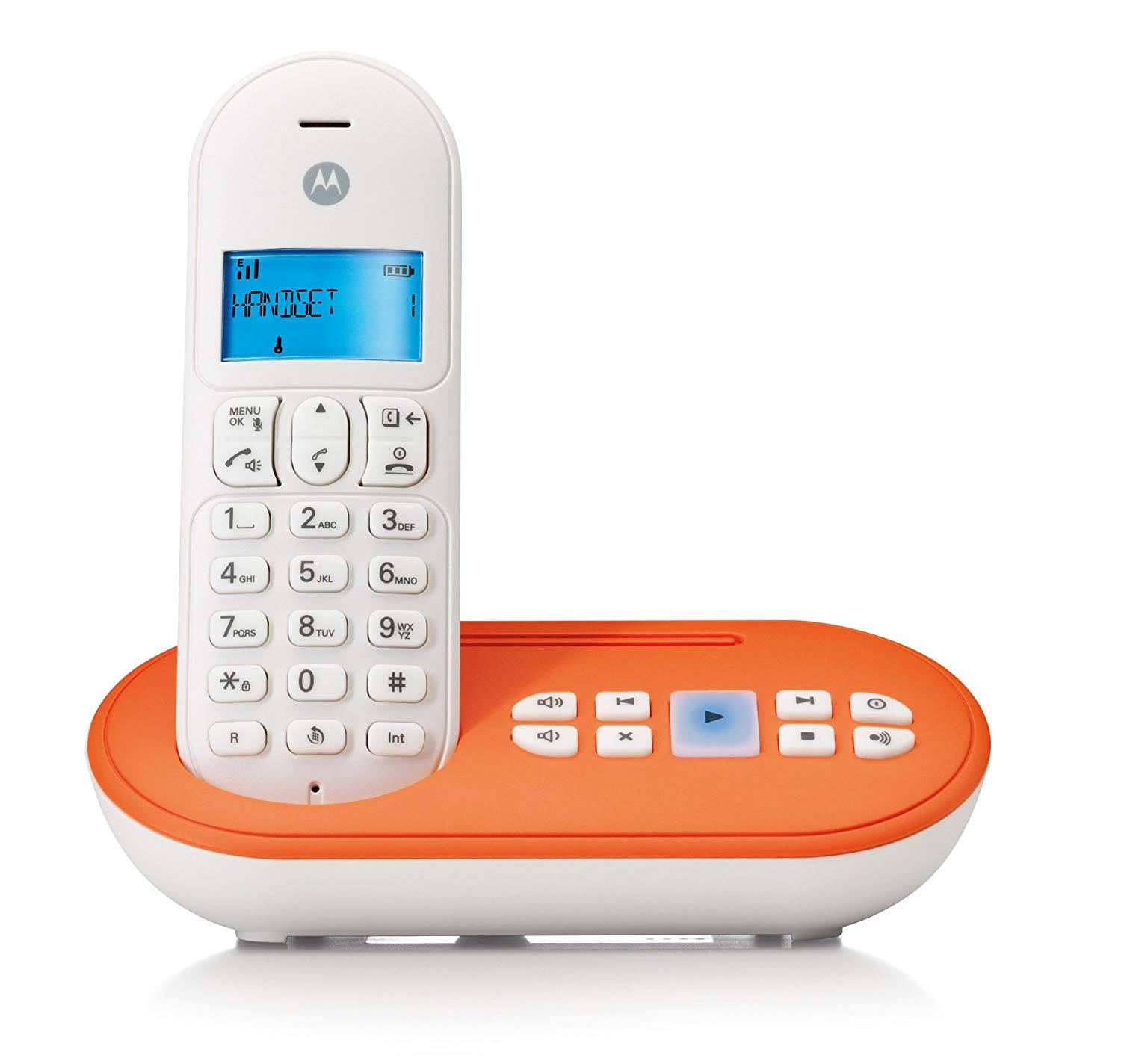 Motorola CORDLESS T111 ORANGE (Italia) art.: T111O