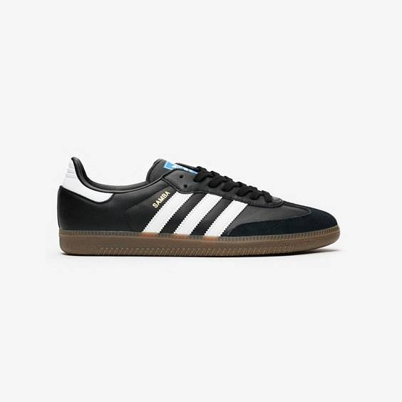 Adidas Samba Og In Black - Size 44 ⅔