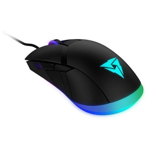 Aerocool Mouse Gaming con LED  AM7HEX 12000 DPI Azzurro
