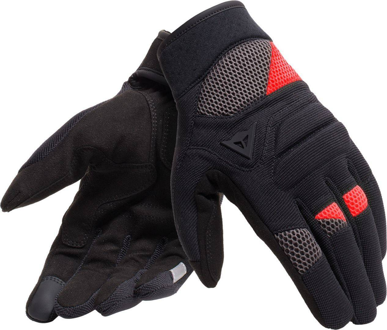 Dainese Fogal Unisex Guanti Nero Rosso 2XL
