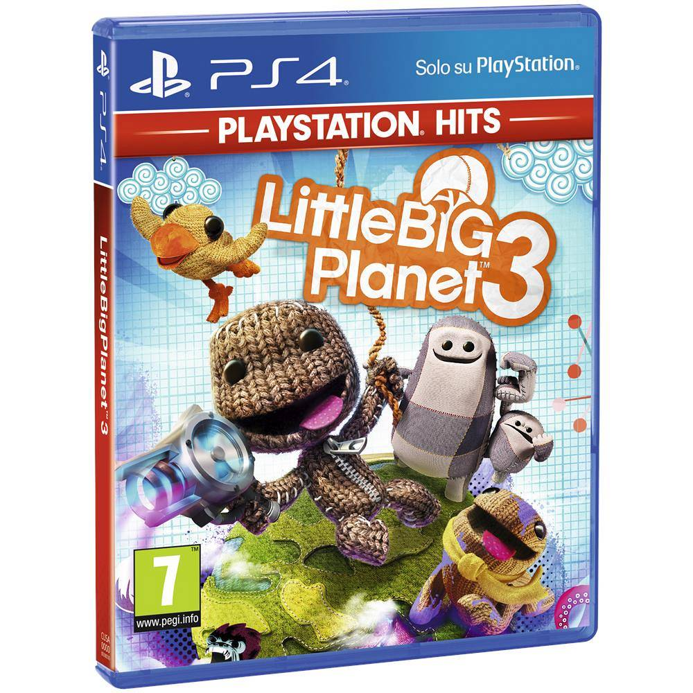 Sony PS4 LITTLE BIG PLANET 3 PS HITS 9413875 ITA