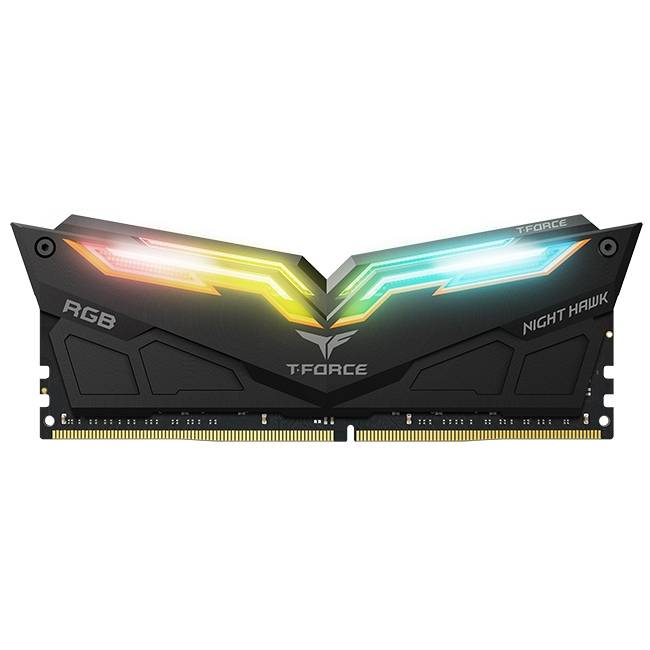 TEAMGROUP TEAM GROUP Night Hawk RGB D4 16GB (2x8GB) 3200MHz CL16-18-18-38 1.35V Cod: TF1D416G3200HC16CDC01