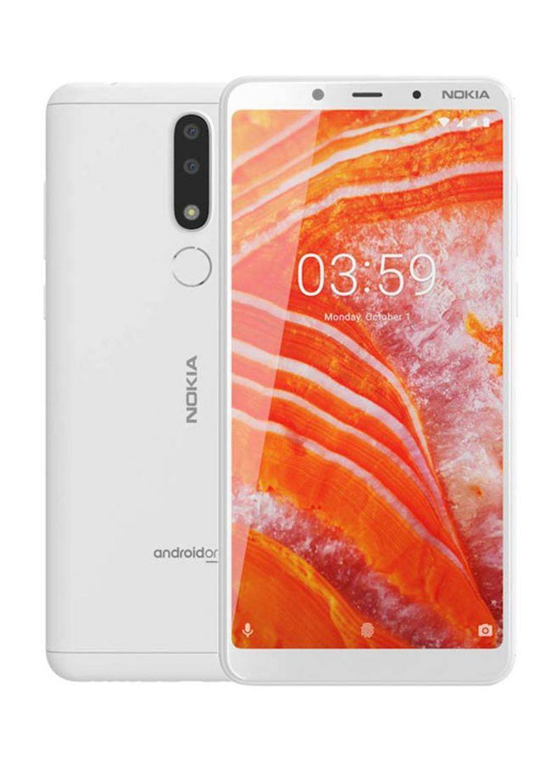 Nokia 3.1 Plus Dual Sim 16GB White (Europa)