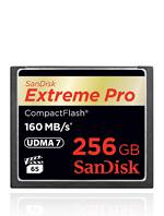 SanDisk COMPACT FLASH EXTREME PRO 256GB 160 MB/S