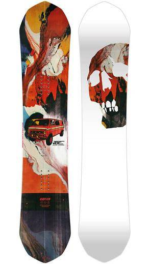 Capita ultrafear tavola snowboard uomo johnny o connor