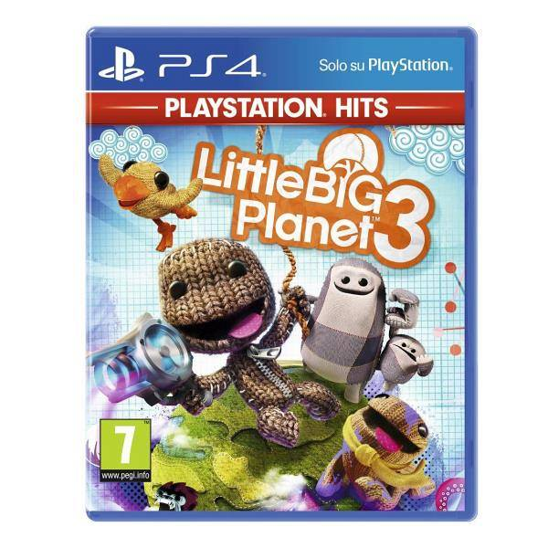 Sony Ps4 Little Big Planet 3 Ps Hits Rif: 9413875