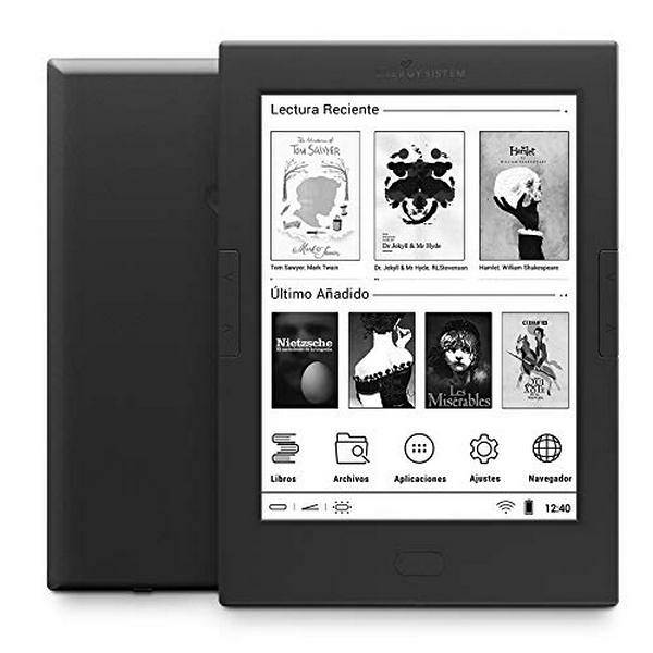 "Energy Sistem eBook  eReader Pro 4 6"" WIFI 512 MB DDR3 8 GB"