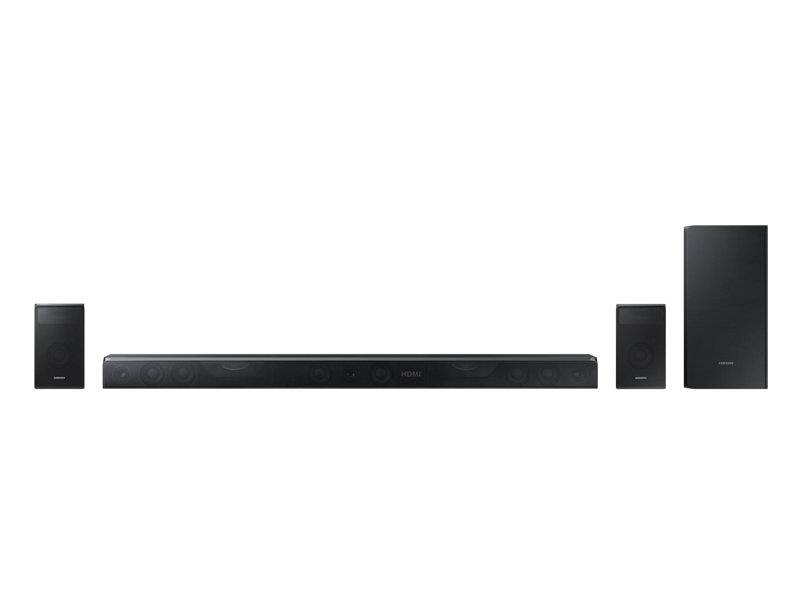 Samsung Soundbar Samsung Hw K950 5.1.4 Canali 500 W Wireless 6 Modalità Di Suono 3d Video Pass Usb Host Bluetooth Refurbished Nero