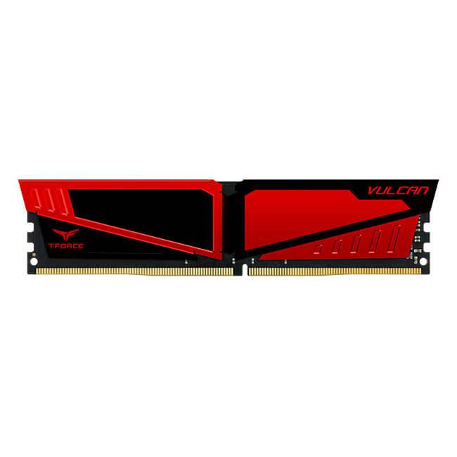 TEAMGROUP TEAM GROUP Vulcan Red D4 16GB (2x8GB) 2400MHz CL16-16-16-39 1.2V Cod: TLRED416G2400HC16DC01