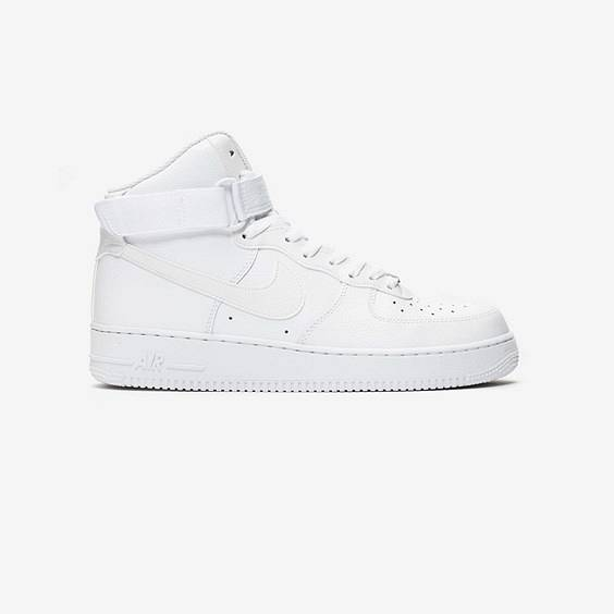 Nike Air Force 1 High 07 In White - Size 45.5